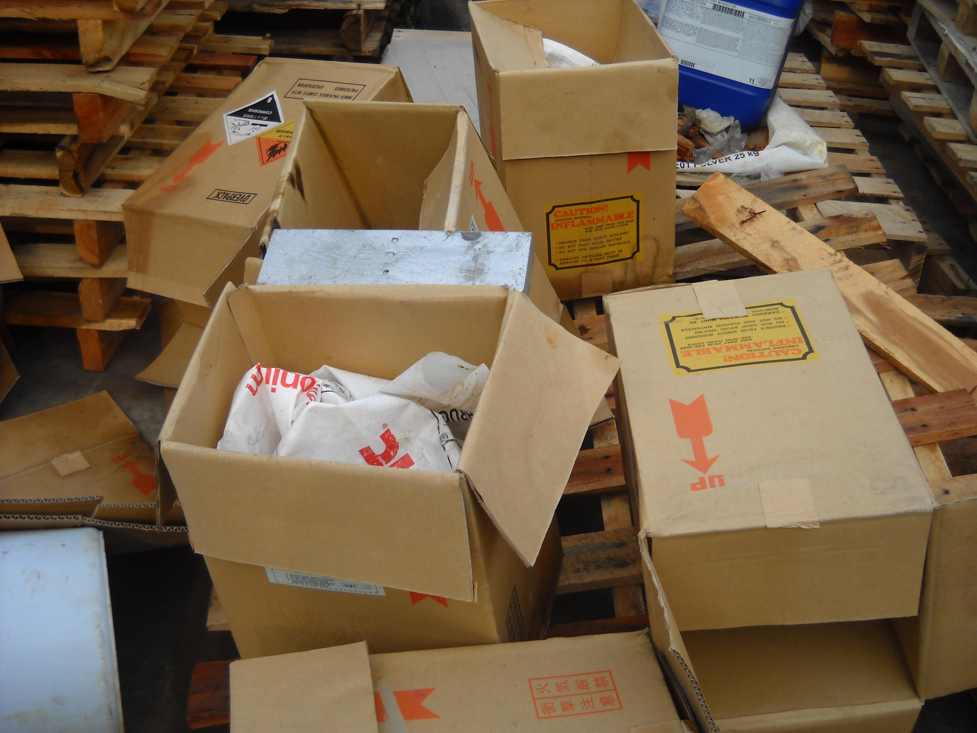Thùng carton phế liệu